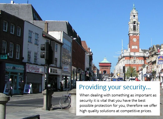 Security Installer Colchester